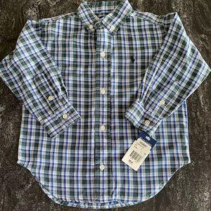 Polo by Ralph Lauren Kids Long Sleeve Shirt NWT